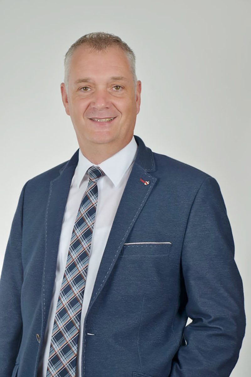 Bürgermeister Günter Harders